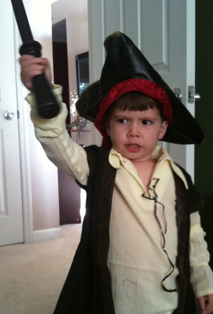Pirate for Halloween, Chasing Firefly