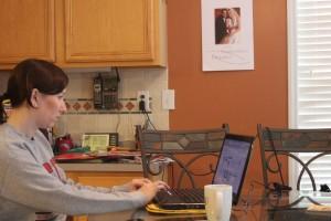 Computer, blogging