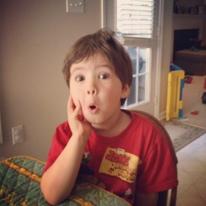 Funny things my kid says/does