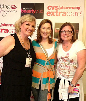 My lovelies Amy and Cheryl at the Getting Gorgeous Event