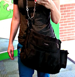 Whole outfit including the diaper bag