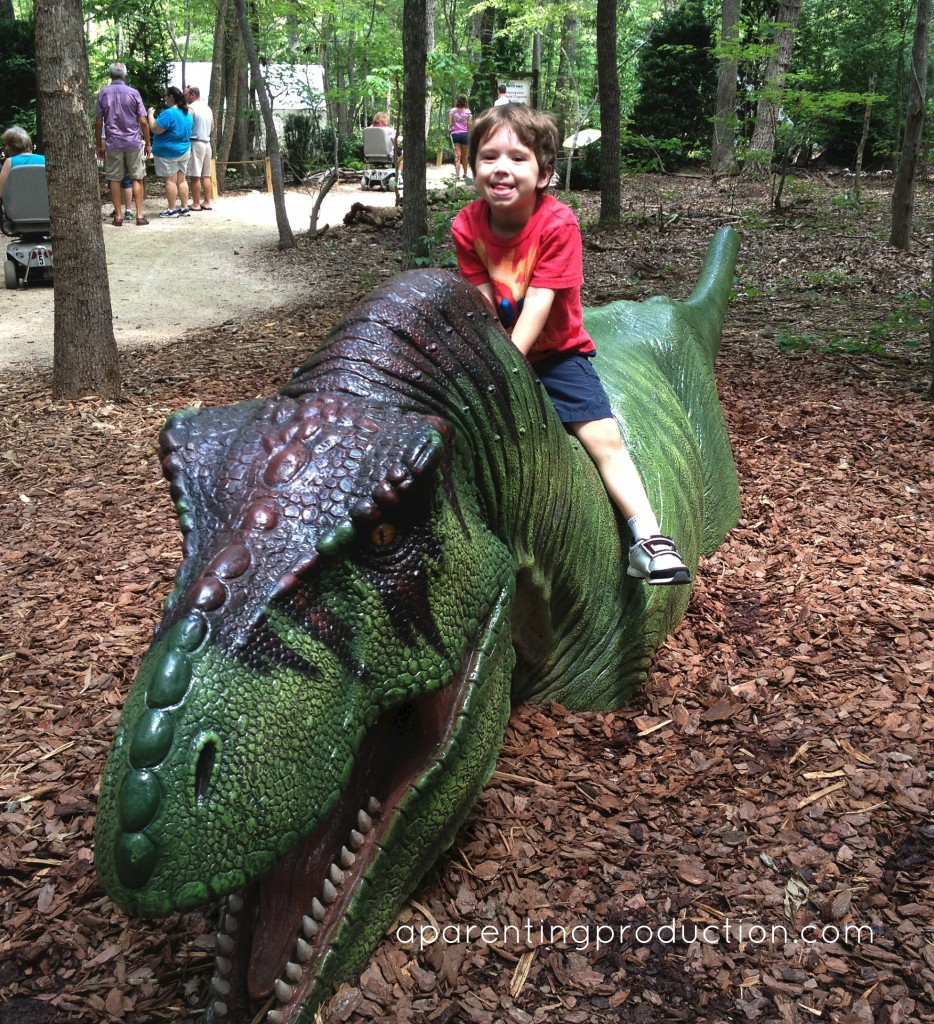 nc zoo, dinosaur exhibit
