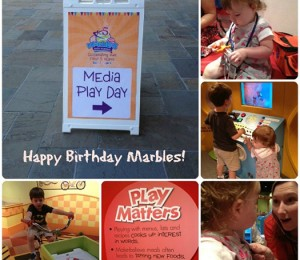 Free admission to Marbles in honor of their 5th birthday