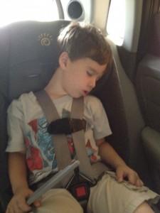 The five minute car nap
