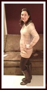 A tale of brown leggings