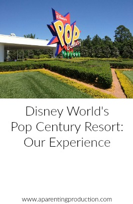 A review of the Pop Century Resort at Walt Disney World