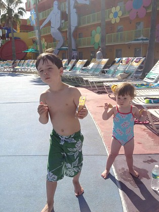 Pool at Pop Century