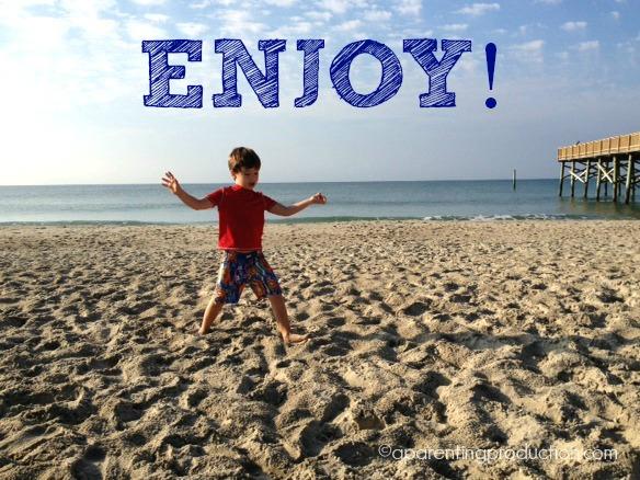 enjoy - my word for 2014