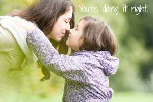 All the parenting advice you need in four words