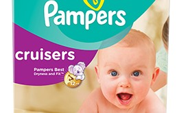 Pampers Cruisers new and improved