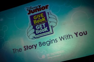 Disney Junior Give a Book, Get a Book