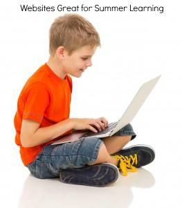 websites for preschool - pre K summer learning