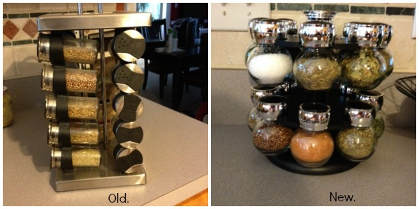 Spice Rack - replace every three years