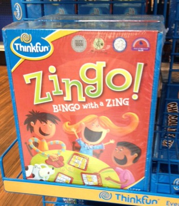 Zingo - holiday gift guide