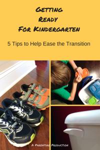 5 Get Ready for Kindergarten Skills