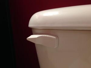 toilet flush lever