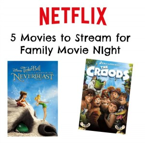 5 movies perfect for family movie night #streamteam