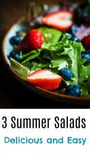 3 Delicious and Easy Summer Salad Recipes