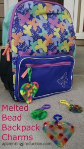 Back to School Craft – Melted Bead Backpack Charms