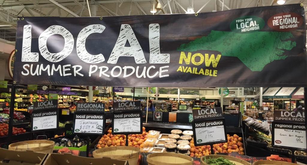 Local Produce at Harris Teeter