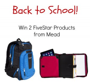 Back to School Giveaway with Mead!