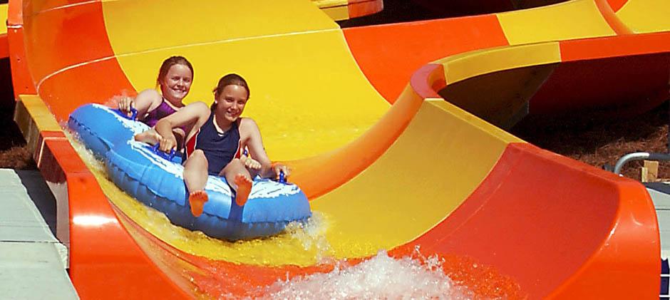 carowinds slide
