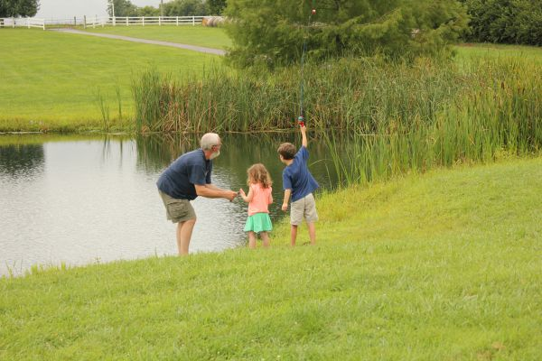 Fishing with grandpa - lr
