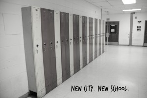 Transitions: New City; New School
