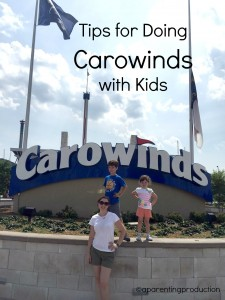 Tips for Doing Carowinds with Kids