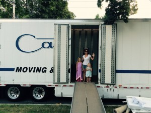 Moving sucks and it's harder with kids