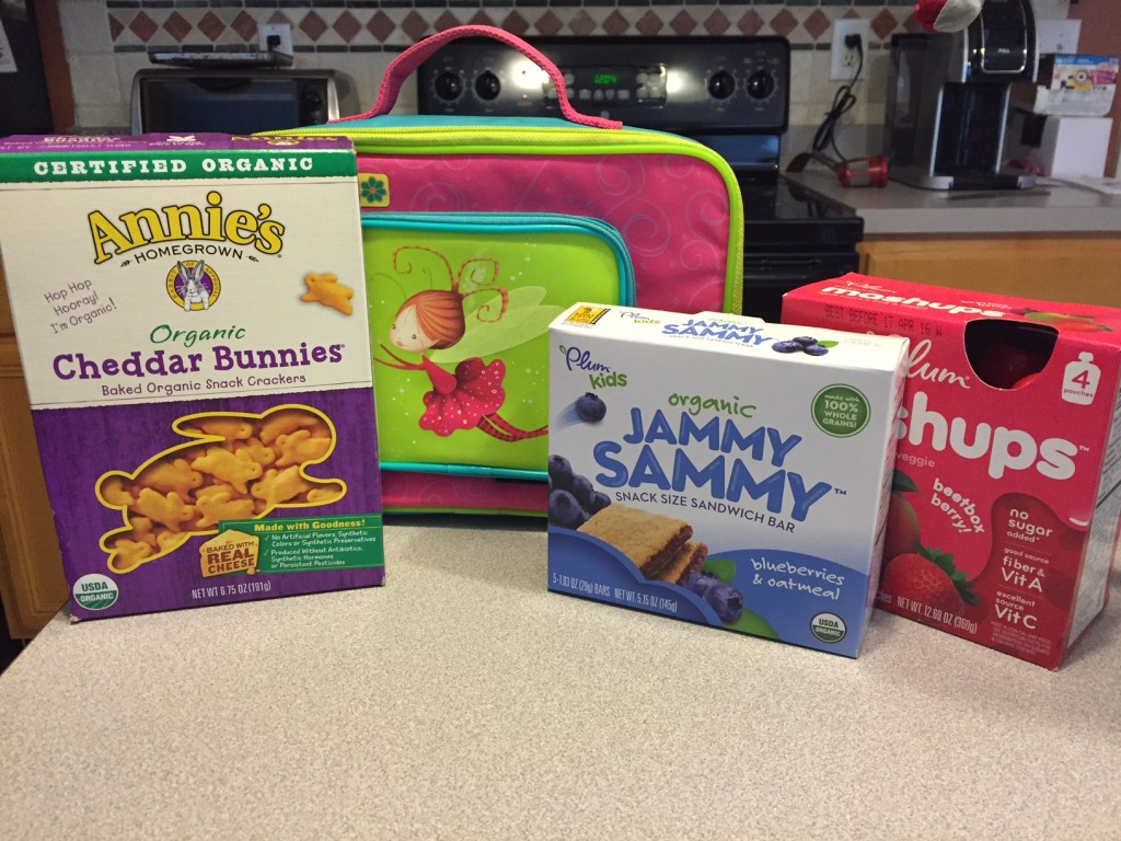 Packing Preschool snacks and lunch