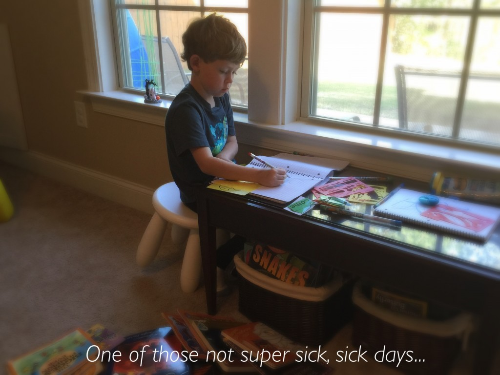 Sick Day Schoolwork