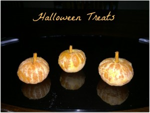 Healthy and not-so healthy Halloween treats