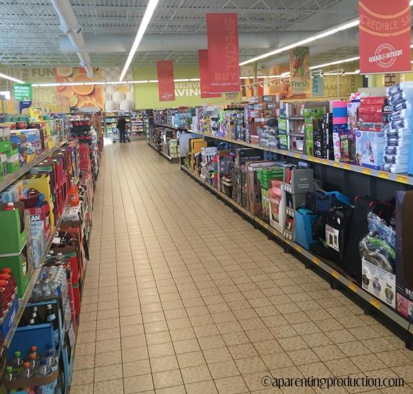 ALDI aisles