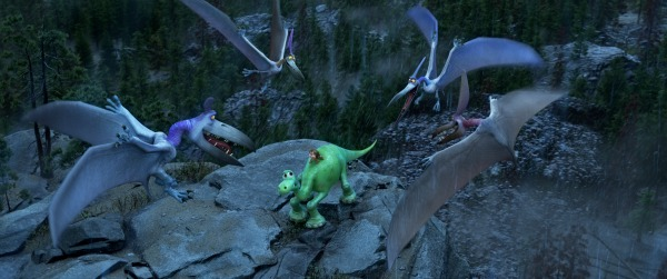 scary scene in the good dinosaur