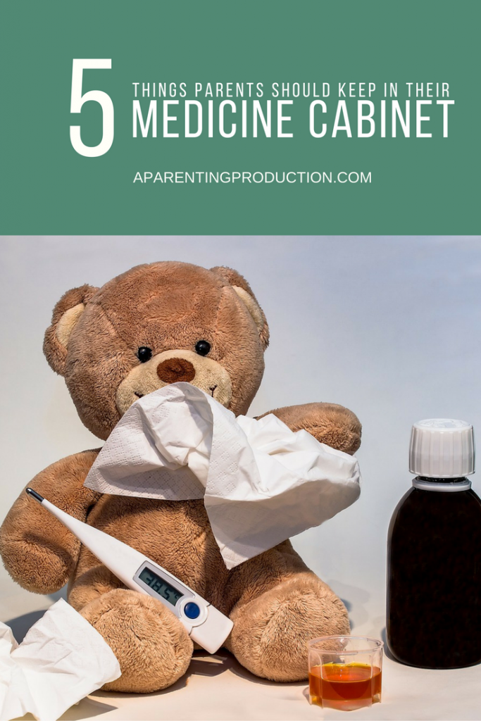 what to have in your medicine cabinet