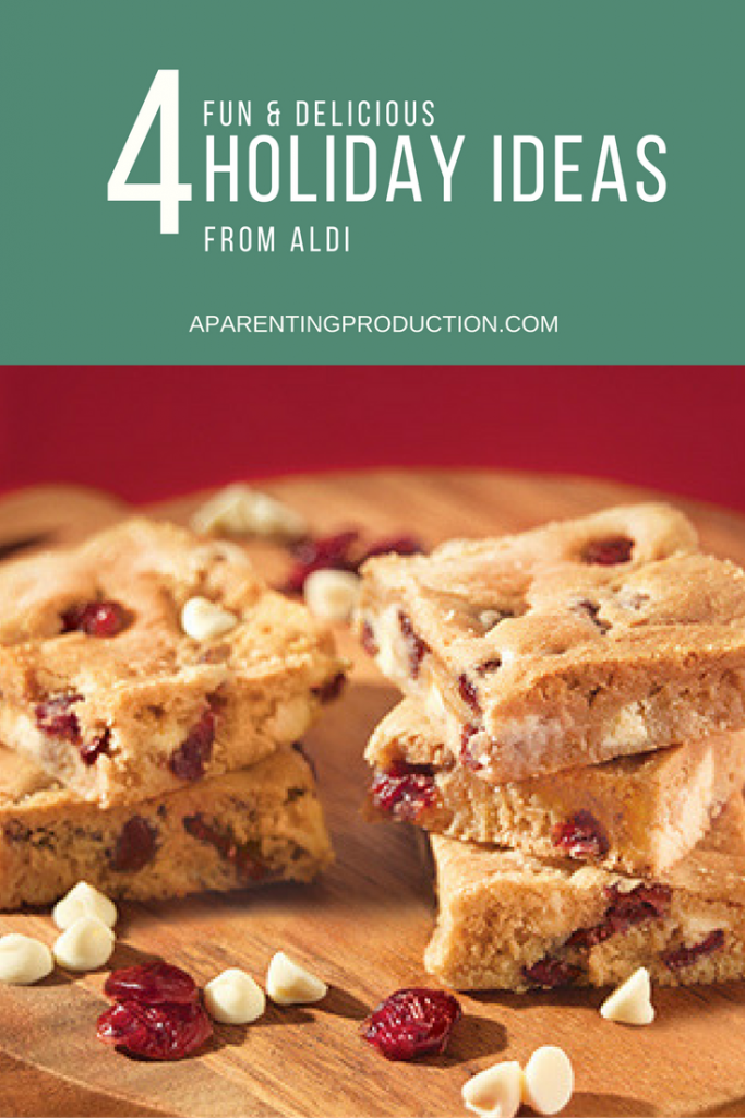 White Chocolate Cranberry Blondies - a recipe