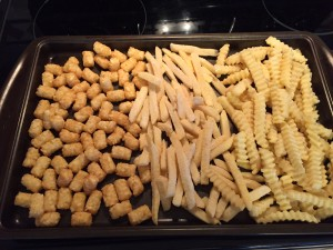 Game Day Appetizer: Loaded French Fry Bake