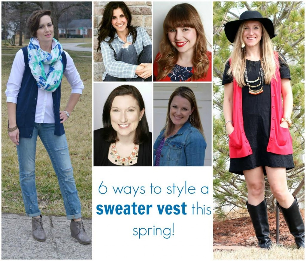 6 ways to style a sweater vest
