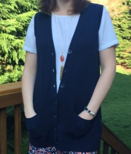 How to Style a Sweater Vest
