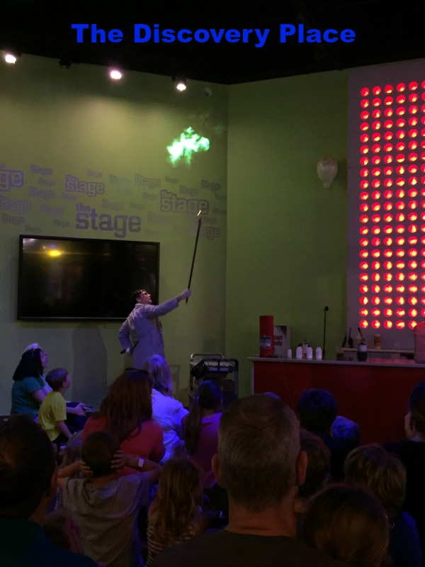 Mr. Locke demonstration at Discovery Place