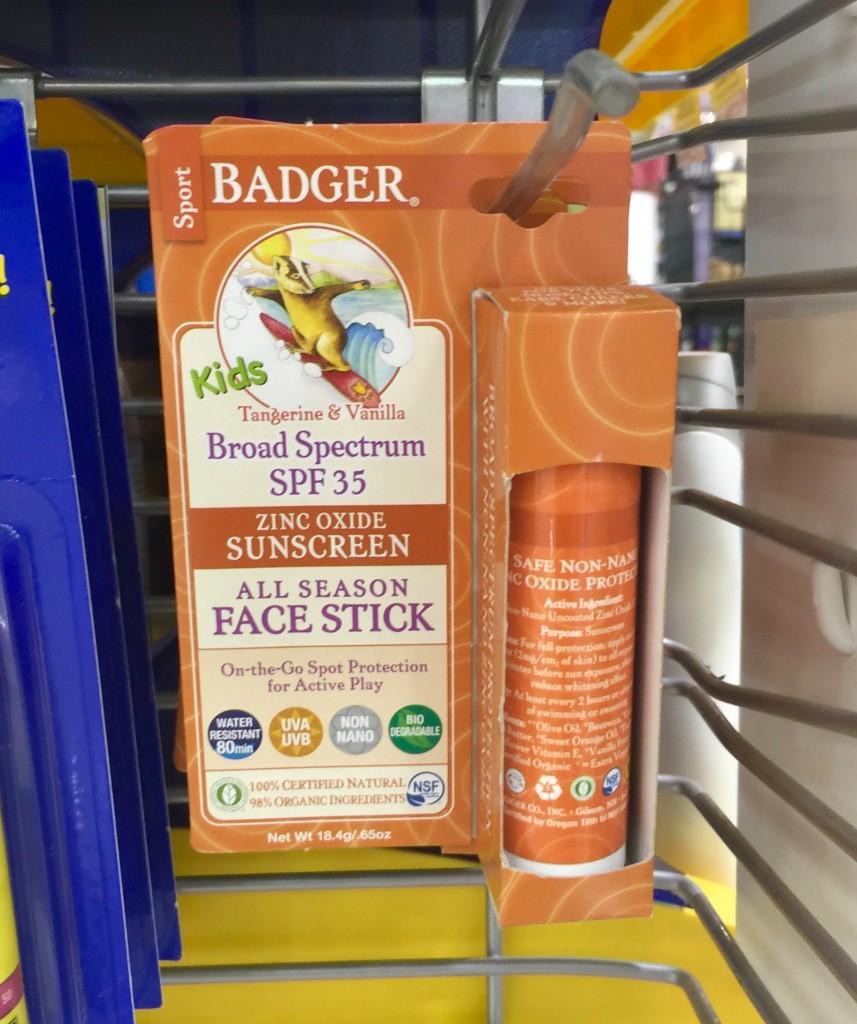 BadgerFaceStick
