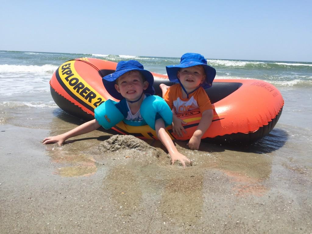 Fun in Sun with hats