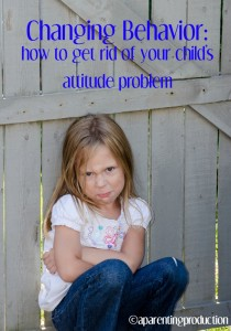 Behavior Chart for Kids With Attitude