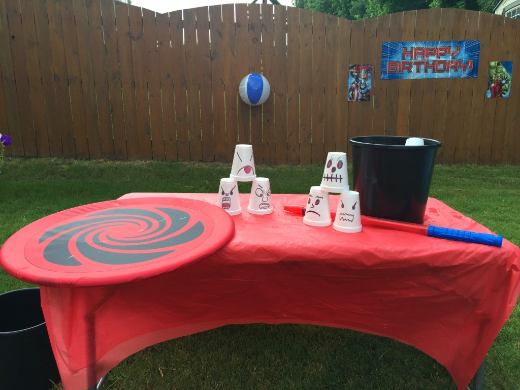 Avengers Birthday Party Game