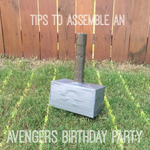Tips to Assemble an Awesome Avengers Birthday Party