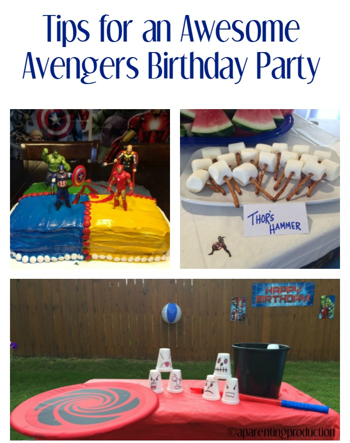 Tips for an Awesome Avengers Birthday