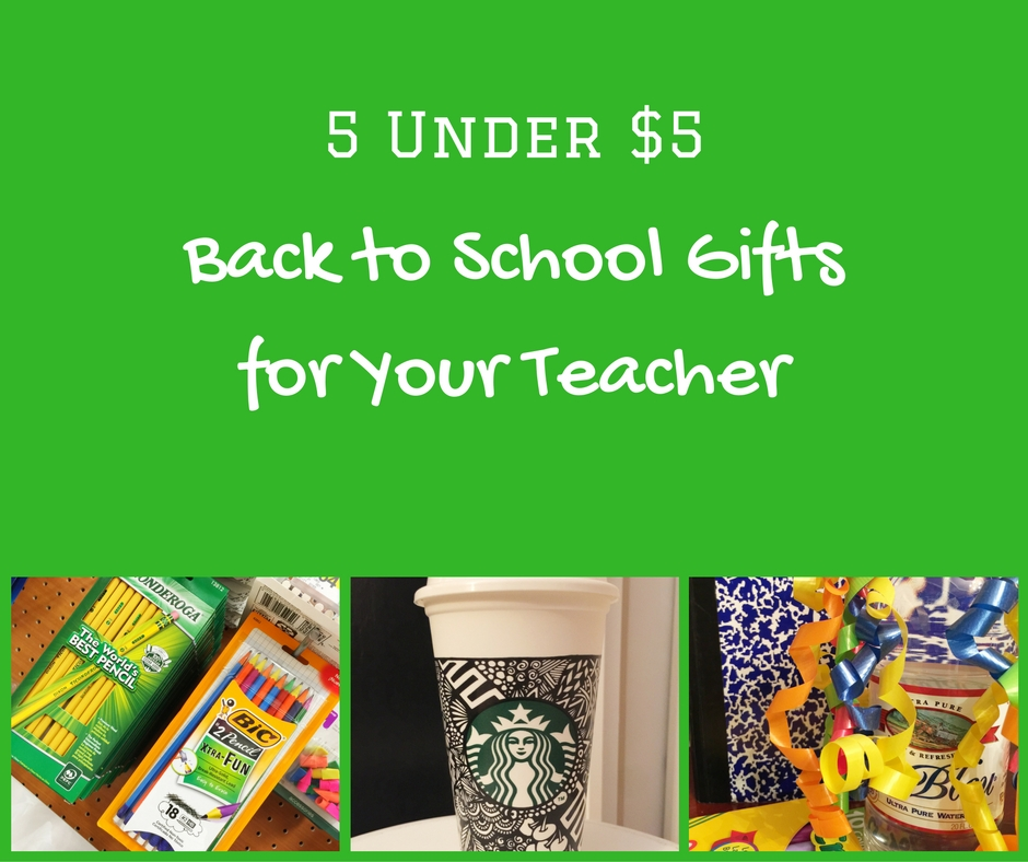 5 Under $5Back to School Gifts for Your Teacher