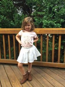kindergarten girl