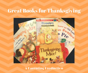 Great Children's Books for Thanksgiving